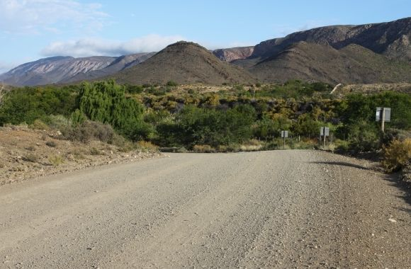 Gravel Road Prince Albert Western Cape