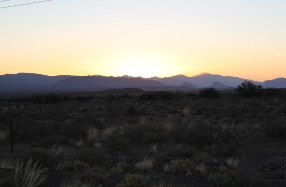 Karoo Sunset Prince Albert Western Cape